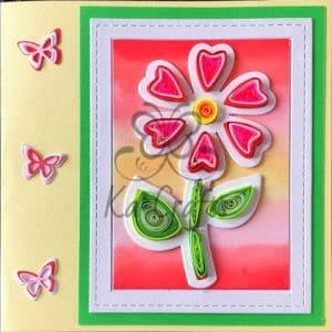 Gevulde bloem