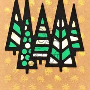 Modern 5 bomen